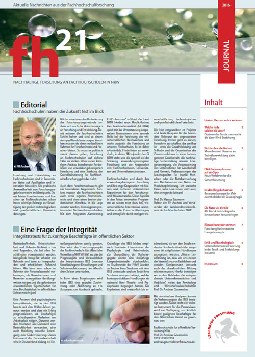 fh21 Journal 2016