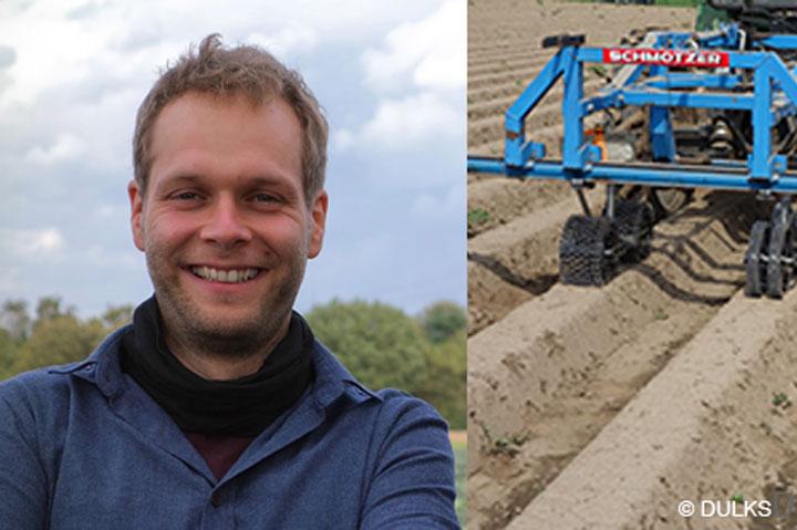 André Dulks gründet das Start-up DULKS für Agrartechnik