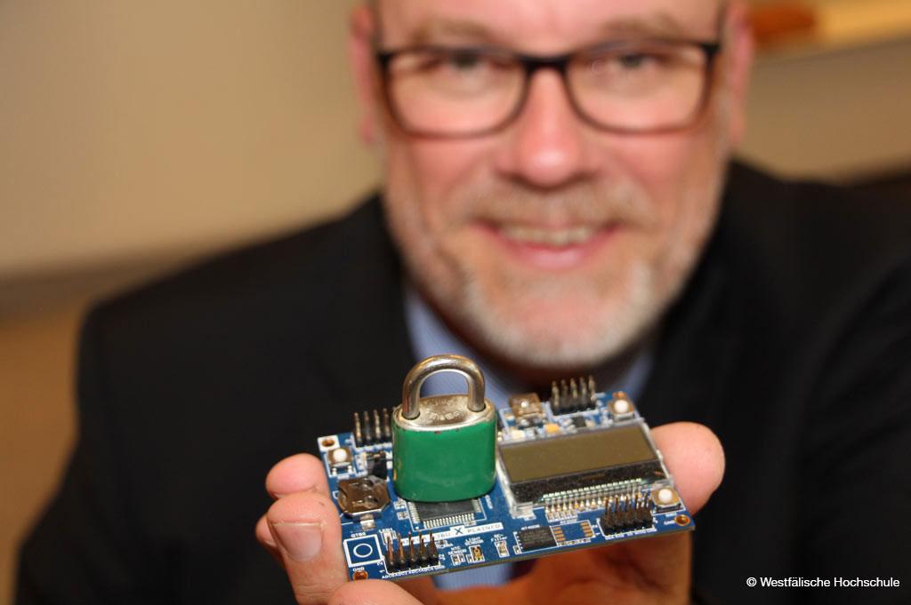 """""""Enigtix"""" sorgt für digitale Sicherheit (Bild: Westfälische Hochschule)"""
