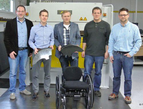 Leichtbau-Rollstuhl entwickelt