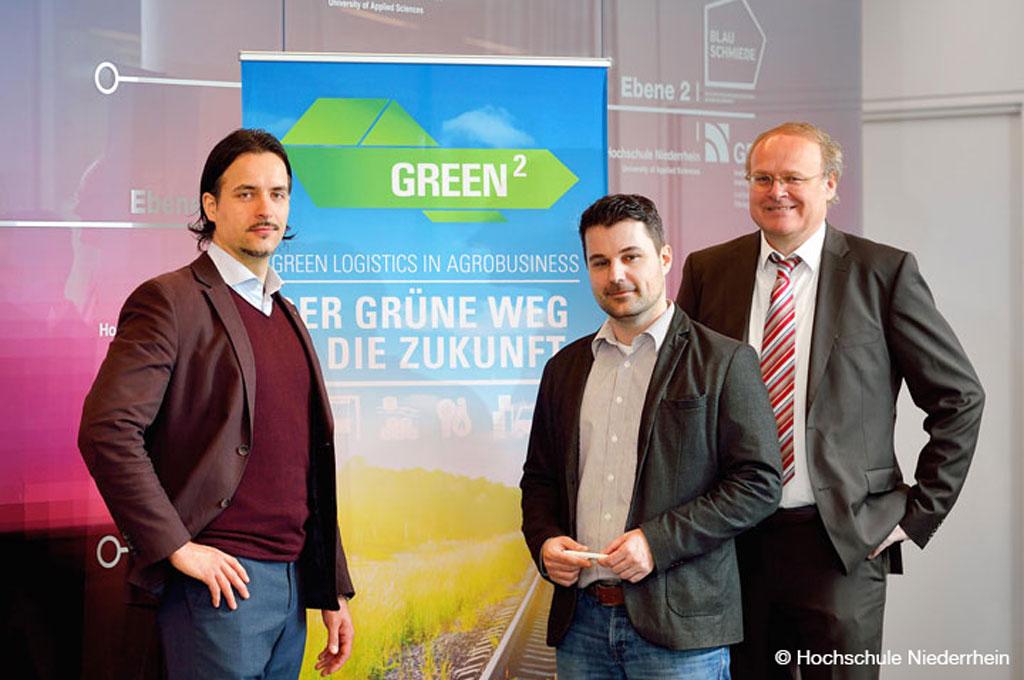 """Das Transferprojekt """"STRASUS"""" der Hochschule Niederrhein hilft Logistik-Unternehmen beim Thema Nachhaltigkeit (Bild: Hochschule Niederrhein)"""