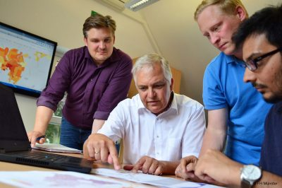 """Projekt """"WIEfm"""" der FH Münster entwickelt eine regionale Wärmekarte für den Klimaschutz (Bild: FH Münster)"""