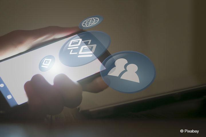 IN-CLOUD Projekt: IAT der Westfälischen Hochschule entwickelt Weiterbildung in Cloud Computing (Bild: Pixabay).