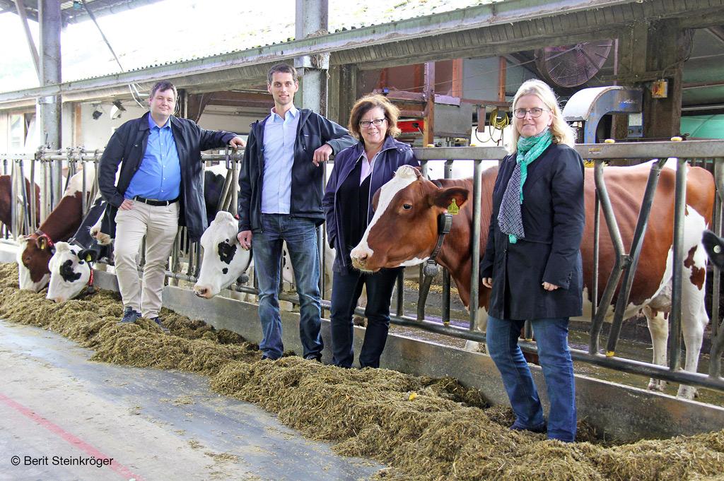 Projekt der FH Bielefeld entwickelt innovative Kuhstallbeleuchtung.