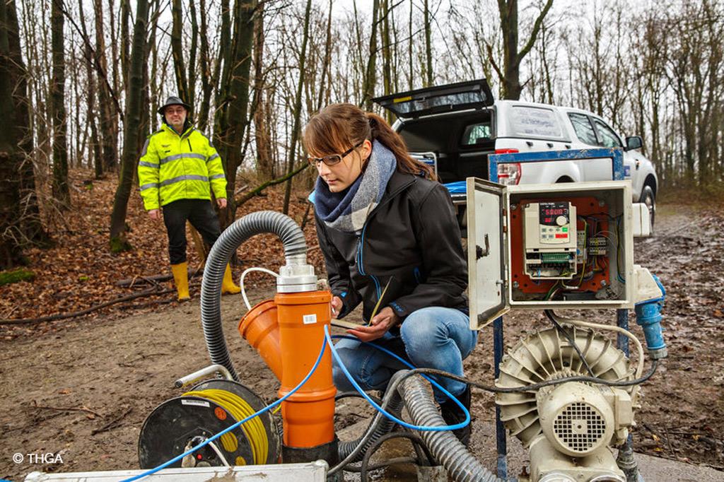 THGA-Geotechniker Prof. Dr. Frank Otto will Gas aus alten Mülldeponien energetisch nutzen (Bild: THGA)