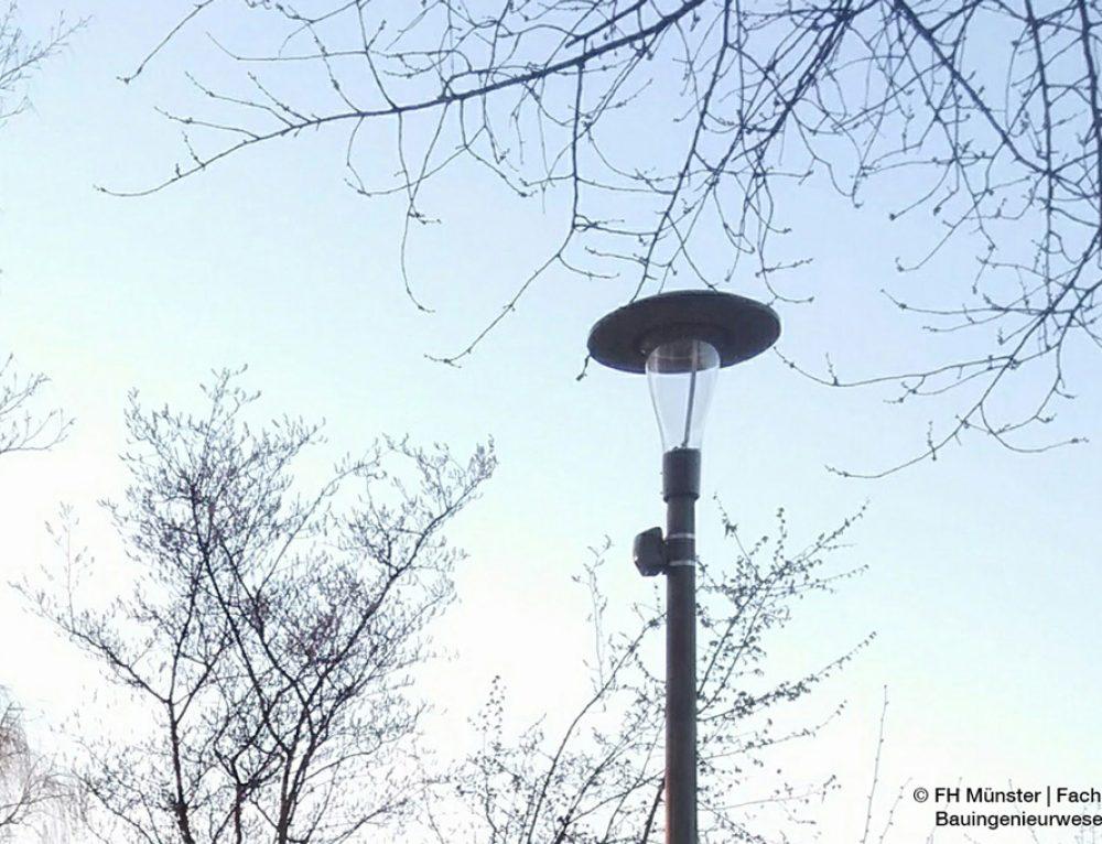 Intelligente Straßenbeleuchtung