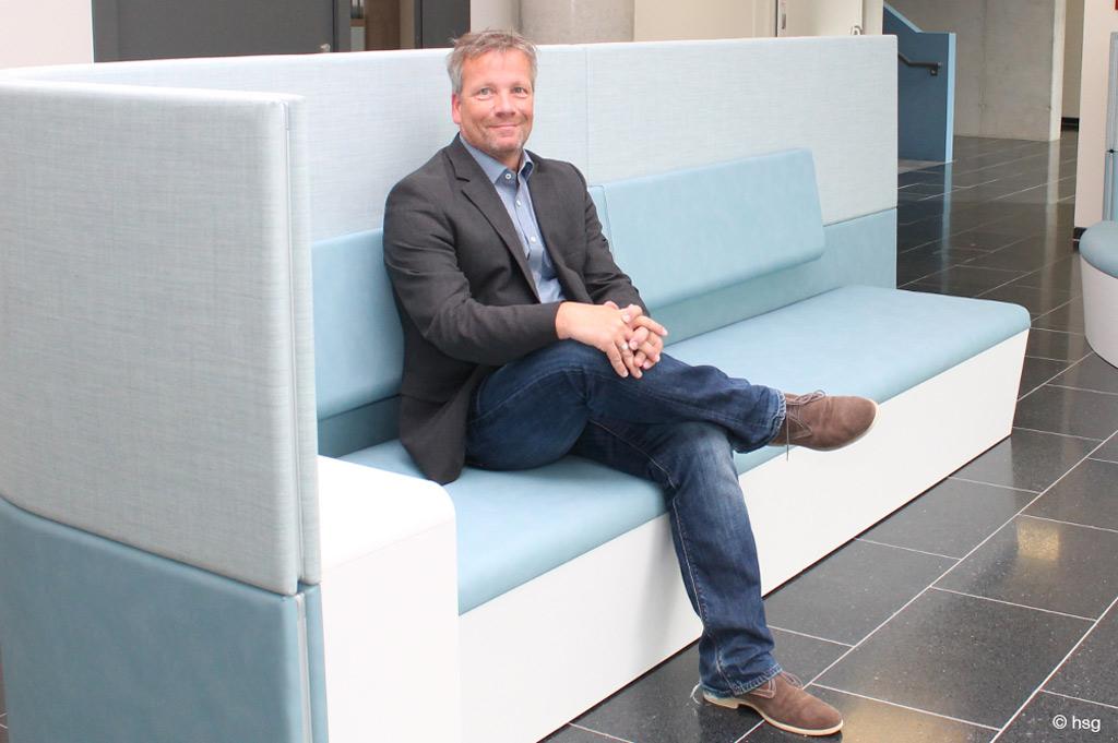 Prof. Dr. Christian Grüneberg wurde zum Vorsitzenden des Interprofessionellen Gesundheitszentrum der hsg gewählt (Bild: hsg)