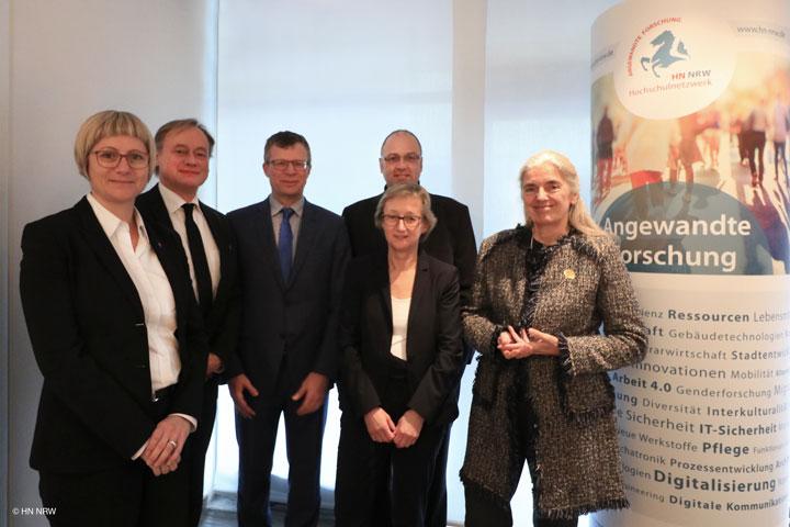 HN NRW Lunch mit Ministerin Isabel Pfeiffer-Poensgen (MKW)