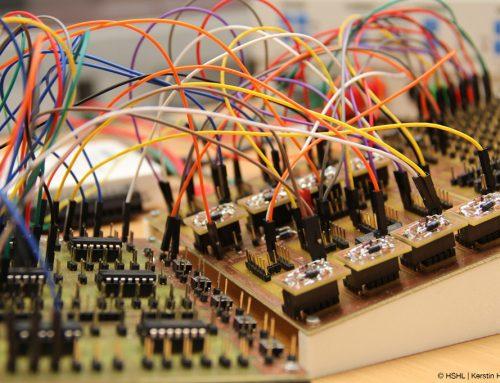 Testinfrastruktur für Mikrochips