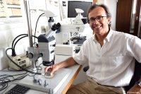 Ralf Feser, Leiter des Forschungsprojektes zu Zinklamellenbeschichtung mit Mikro-/Nanoteilchen (Bild: Fachhochschule Südwestfalen).