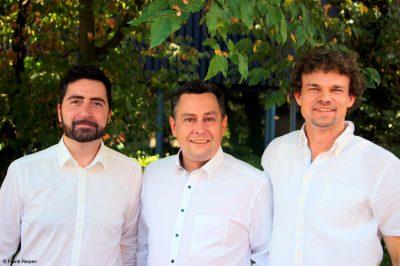 Das mecorad-Team (v.l.): Cagdas Ünlüer, Dr. Marc Banaszak und Andreas Heutz. (Foto: Frank Reipen).