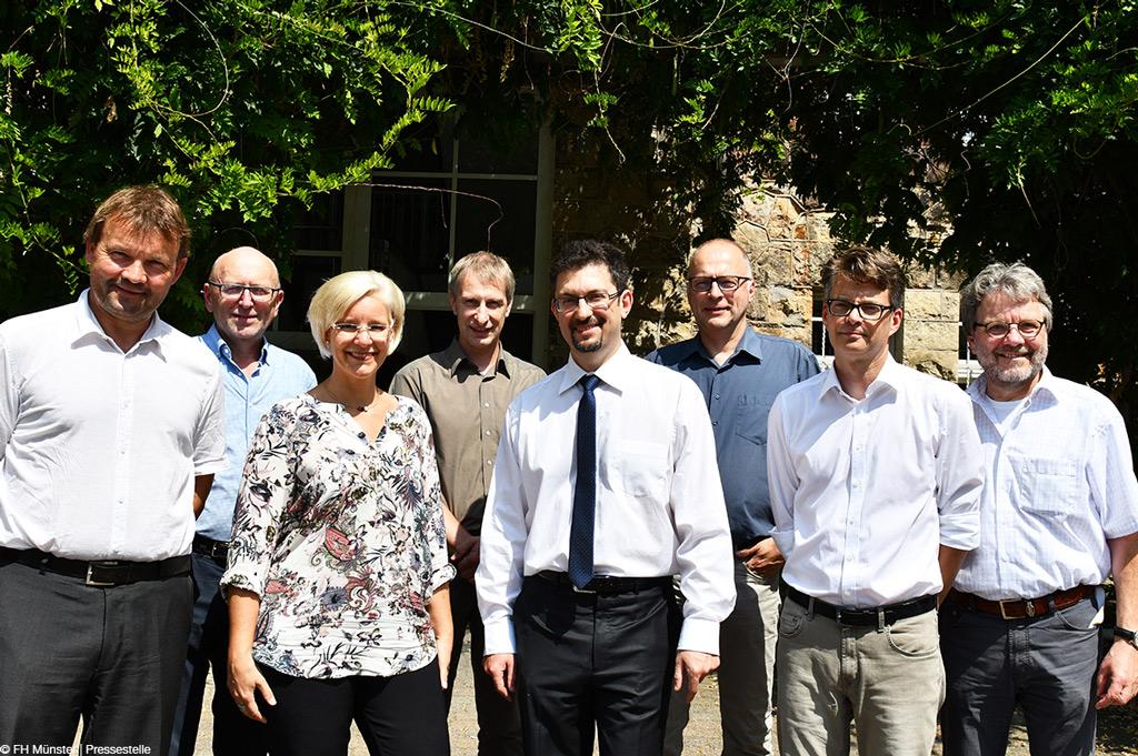 Sie arbeiten in dem Institut zu Gesundheit – Technik – Arbeitsfähigkeit zusammen (Bild: FH Münster | Pressestelle).