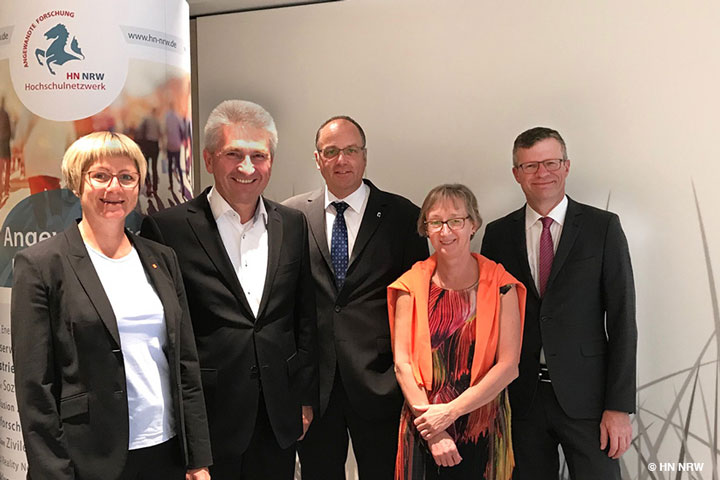 HN NRW Lunch mit Minister Prof. Dr. Andreas Pinkwart (MWIDE)
