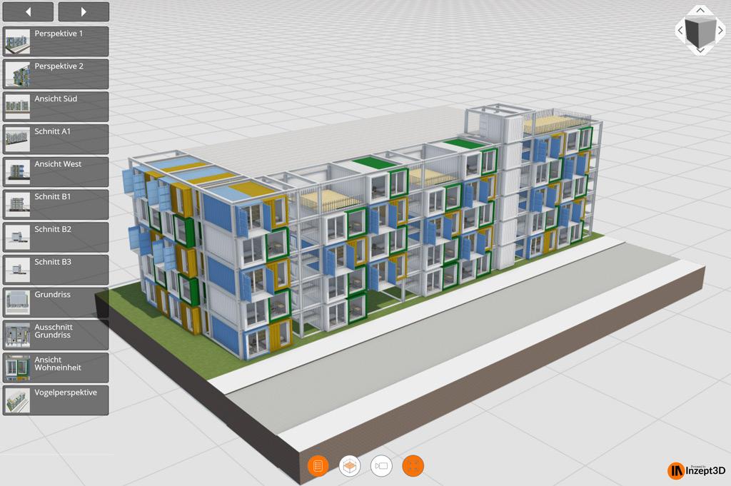 Interaktive 3D-Visualisierung in Inzept3D (Bild: Inzept3D).