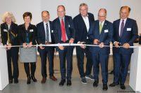 Das Textile Innovatorium bei der Eröffnung (Bild: Hochschule Niederrhein).