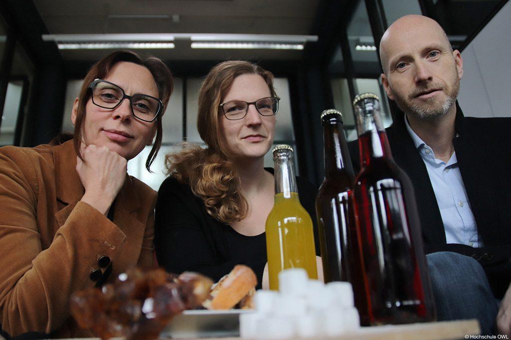 Sie forschen an der Hochschule OWL an Alternativen zum Haushaltszucker in Backwaren und Getränken (Bild: Hochschule OWL).