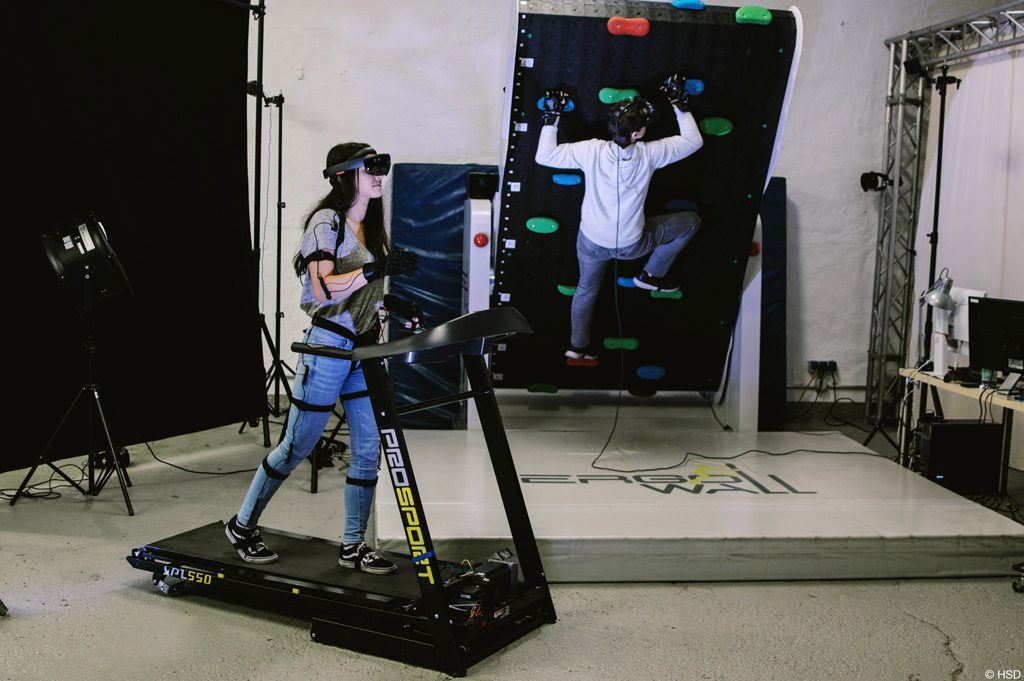 Immersive Health: Nutzerstudien im HIVE-Lab (Bild: HSD).