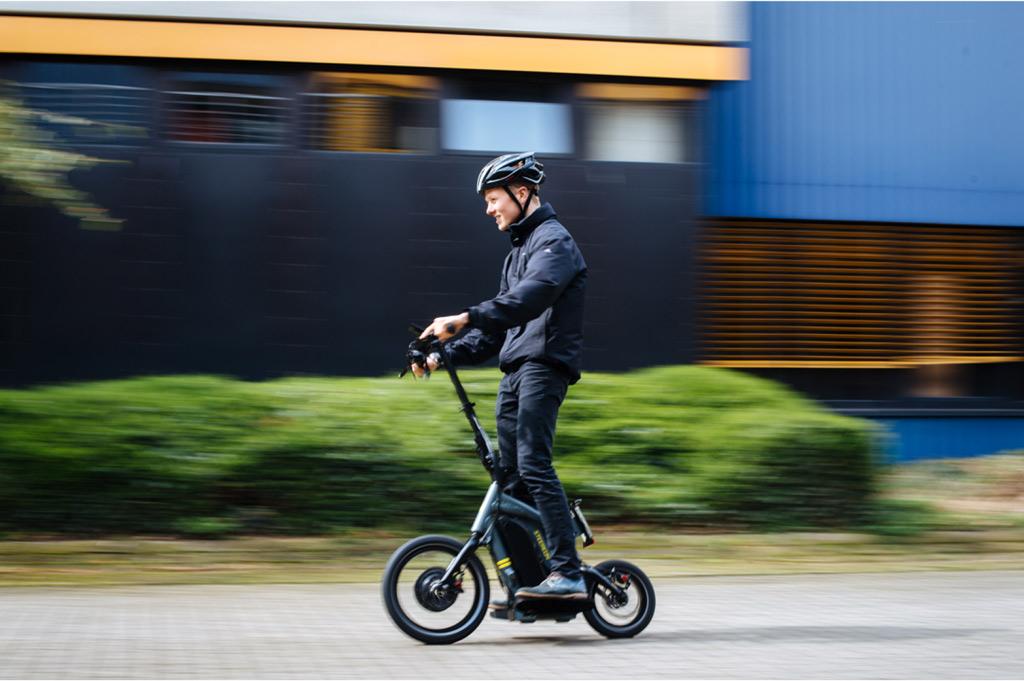So fährt sich der E-Scooter