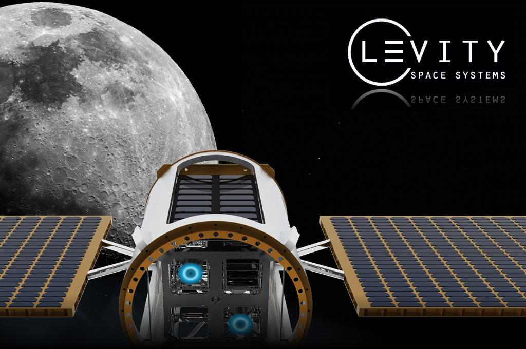 Logo Levity Space, FH Aachen Moon Logo (Bild: Levity Space Systems)