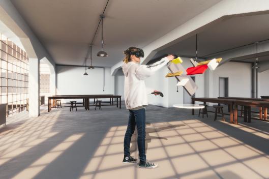 Cologne Game Lab entwickelt interaktive, virtuelle Bauhaus-Ausstellung.