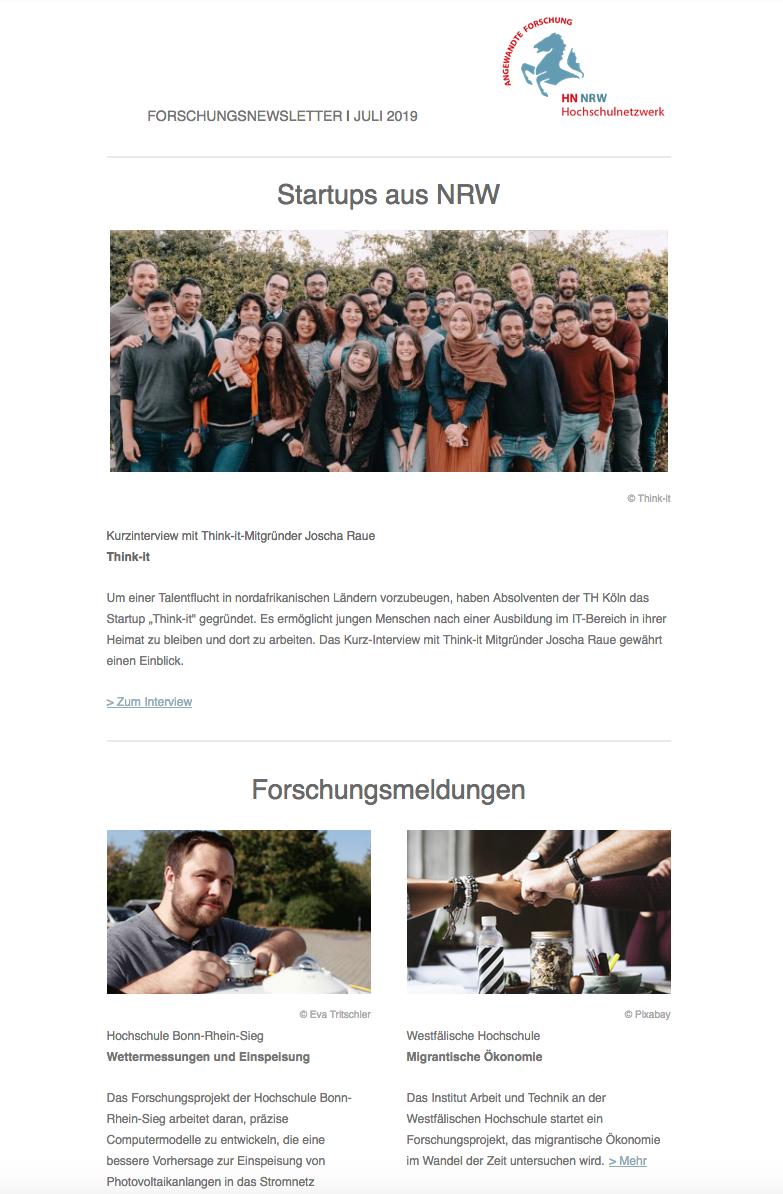 Newsletter HN NRW 2019|07