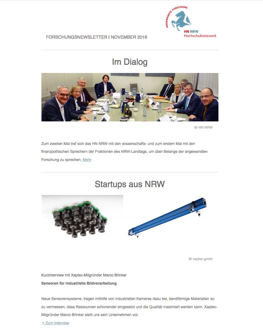 Newsletter HN NRW 2019|11