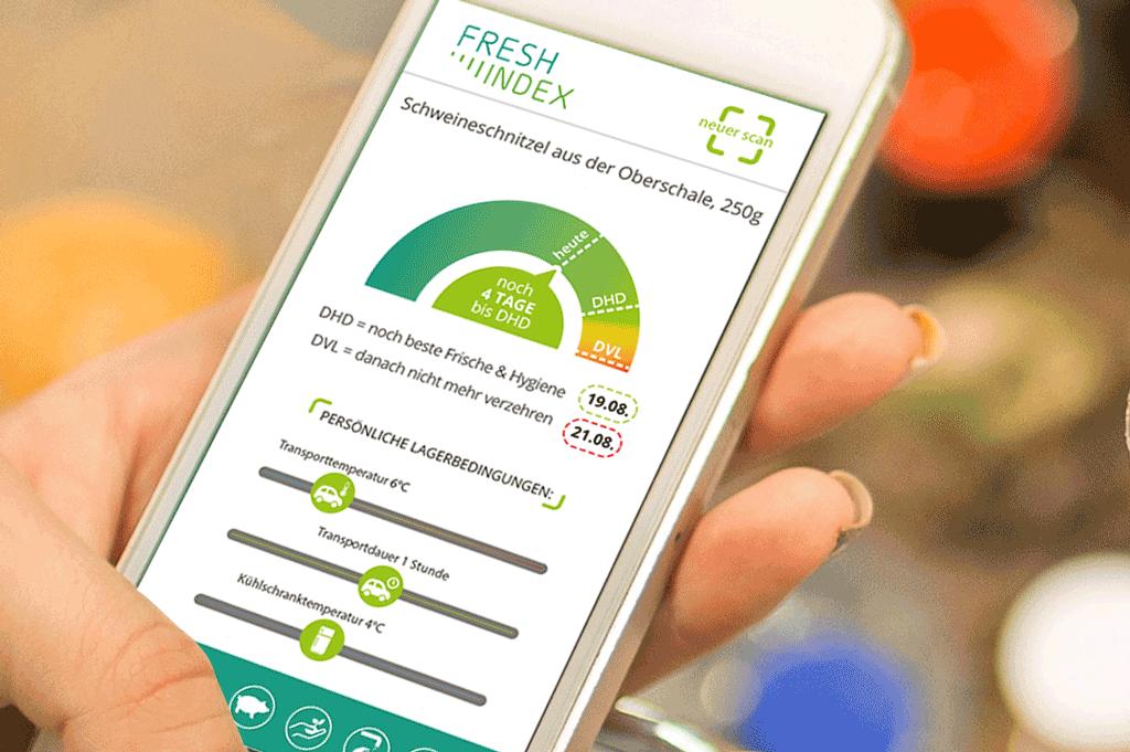 FreshIndex schafft Voraussetzungen für dynamisches Haltbarkeitsdatum