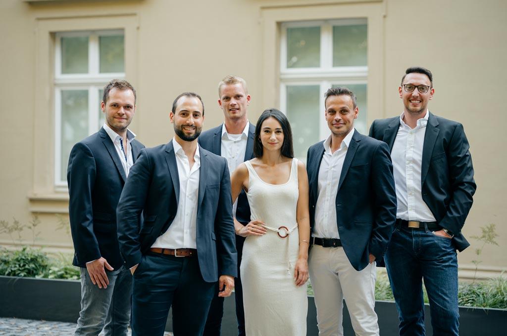 Die Gründer und Mitarbeiter des StartUps PRODASO aus Bielefeld. (Bild: PRODASO)