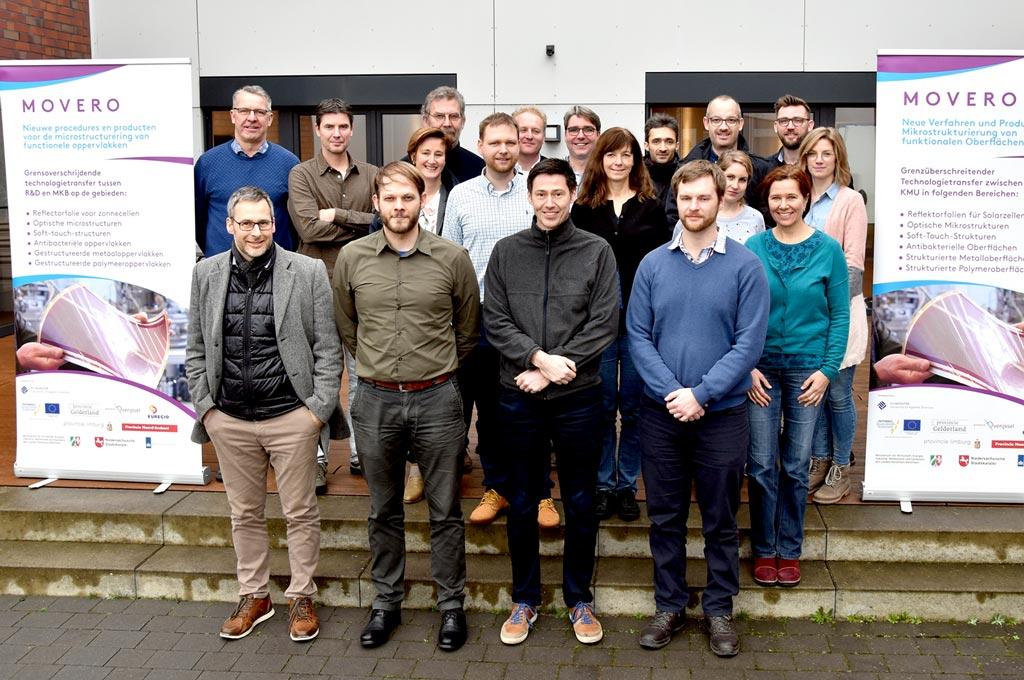 Ein Bild der Projektmitarbeiter*innen, bei einem letzten Projektmeeting: nach drei Jahren endet MOVERO an der FH Münster.