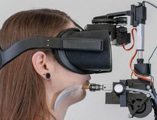 VR mit haptischen Reizen