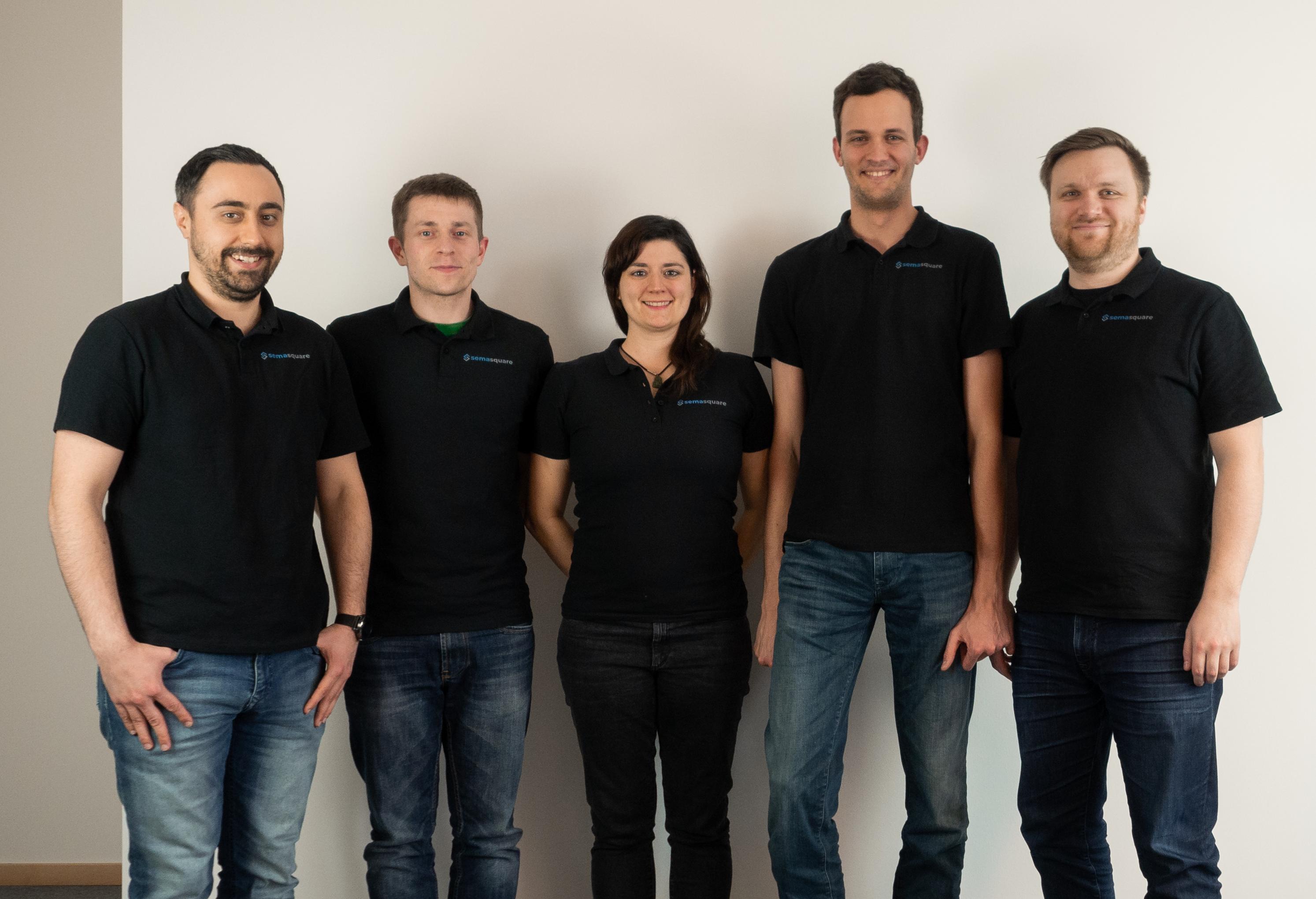 Das Team von semasquare.