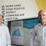 Zwei Köpfe von DigiTrans@KMU (l.): Prof. Dr. Carsten Feldmann vom IPD und Projektleiter David Sossna.
