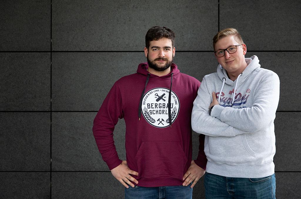 Gründerteam von AWARE7 (Bild: AWARE7).