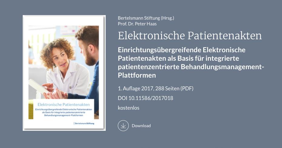 Studie Elektronische Patientenakten, Gesundheitswesen