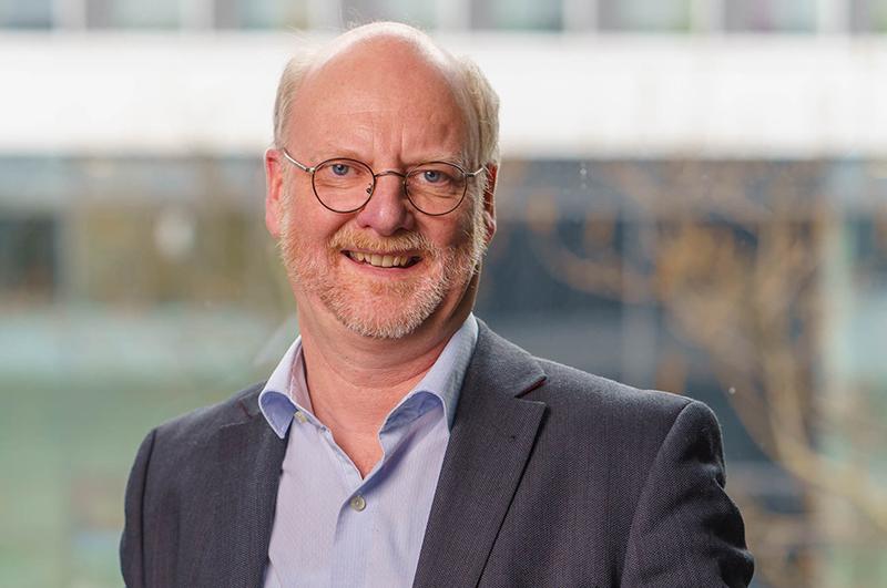 Prof. Dr. Wolfgang Deiters von der Hochschule für Gesundheit, Bochum