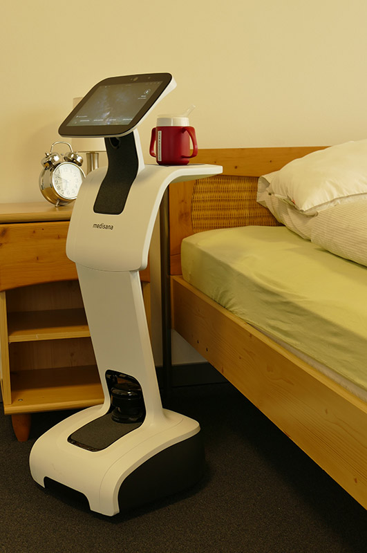 Temi-Roboter als Alltagsunterstützung