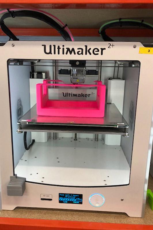 3D-Drucker zur individualisierten Hilfsmittelanfertigung