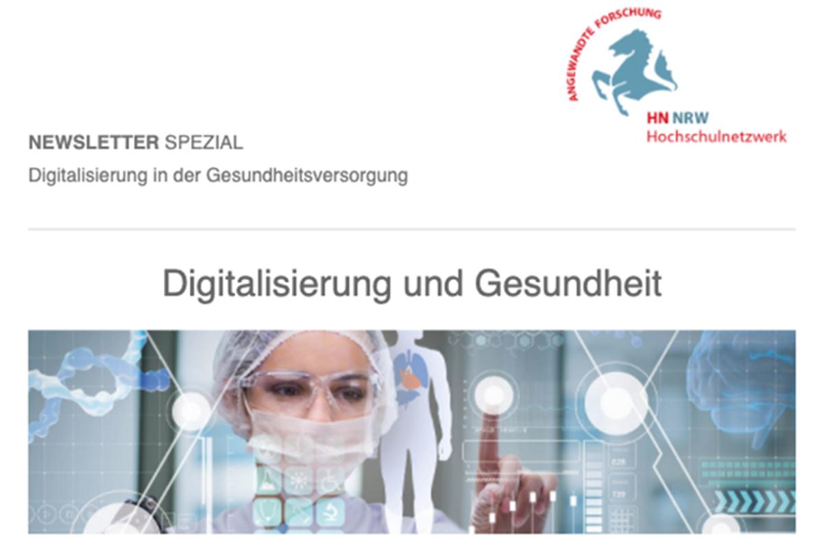 HN NRW Newsletter Spezial zu Digitalisierung in der Gesundheitsversorgung