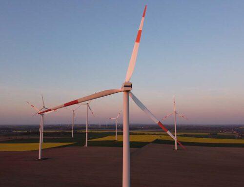 Windräder im Windschatten