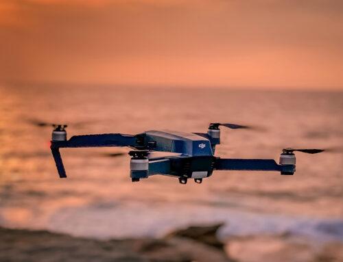Hilfe mittels Drohne