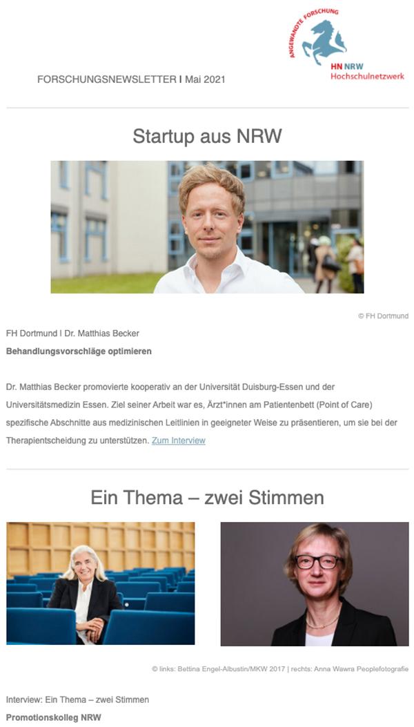 Forschungsnewsletter HN NRW 2021 05