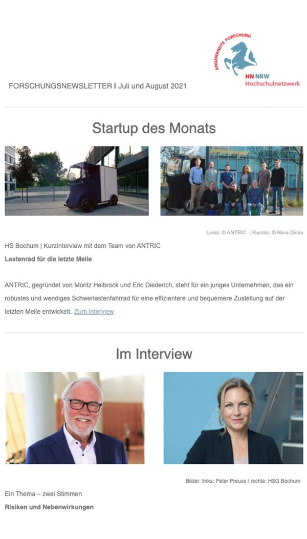 Forschungsnewsletter HN NRW 2021|07/08