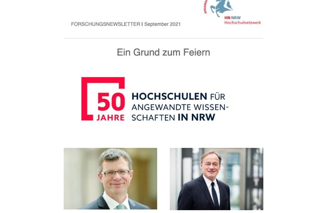 HN NRW Newsletter September